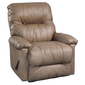 Best Home Furnishings Recliners - Petite Wynette Swivel Rocker Recliner