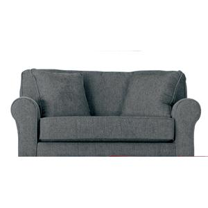 Morris Home Furnishings Shannon Twin Sofa Sleeper w/ Air Dream Mattress