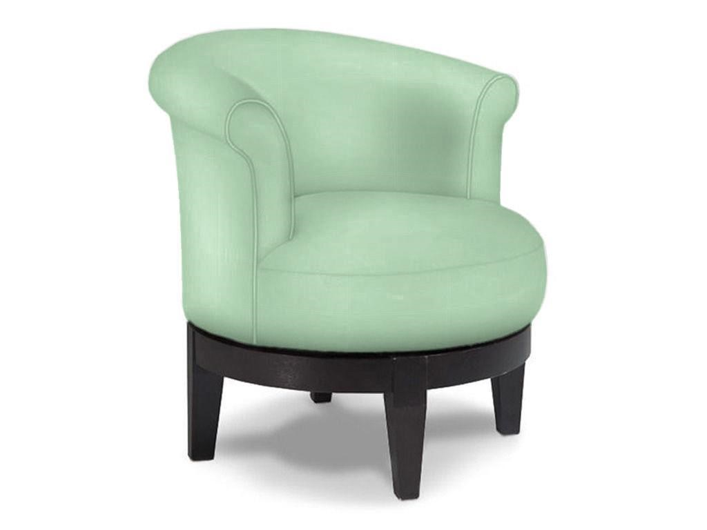 Chic Attica Swivel Chair With Traditional Rolled Chair