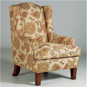 Best Home Furnishings Chairs - Wing Back Andrea Wing Chair