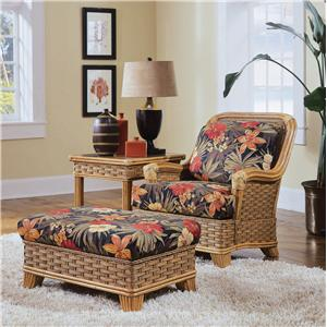 Braxton Culler 953 Chair & Ottoman