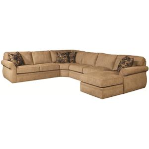 Broyhill Express Veronica <b>Quick Ship</b> Sectional Sofa Group