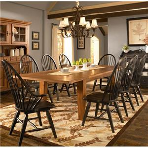 Broyhill Furniture Attic Heirlooms 9 Piece Dining Set