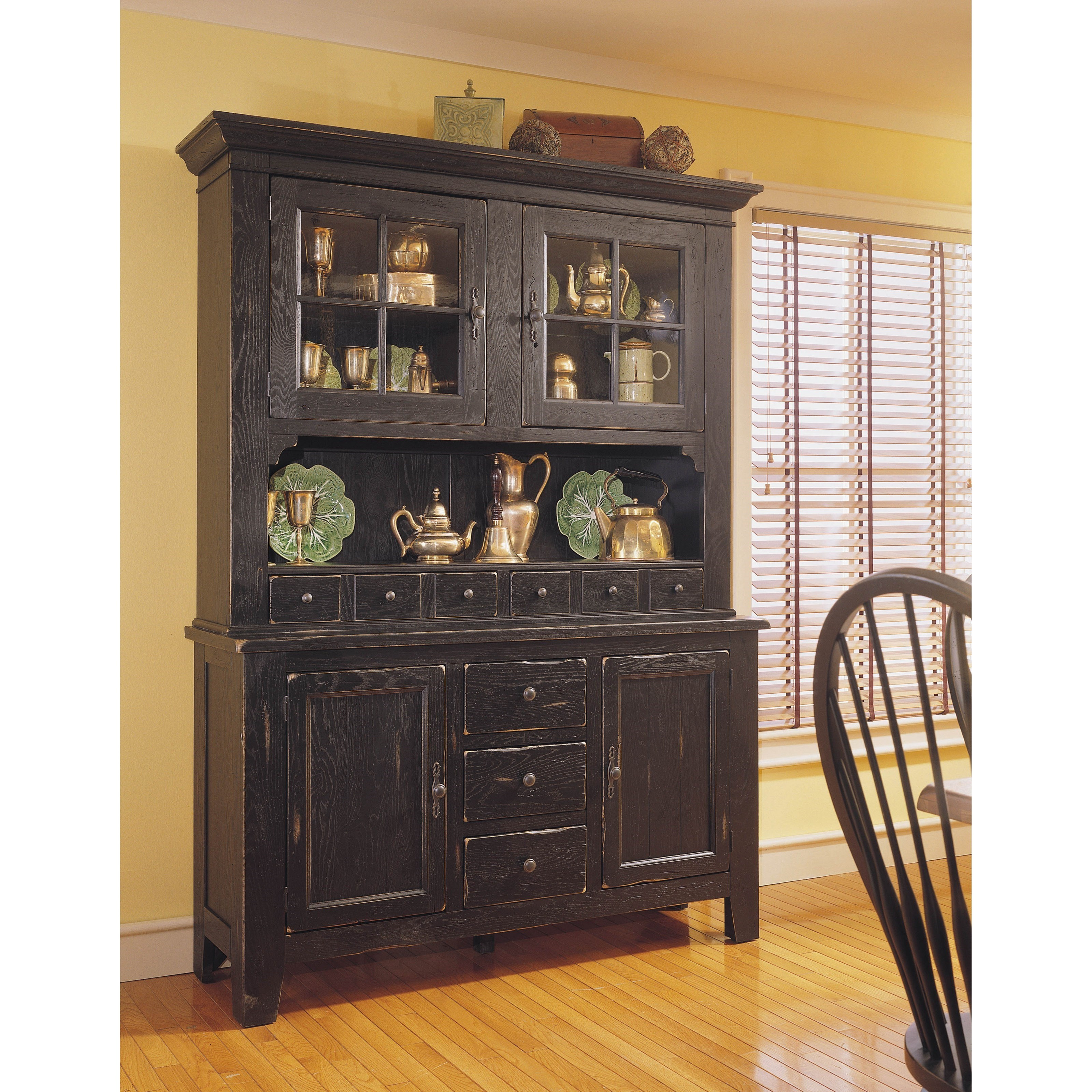 glaze for kitchen cabinets china hutch and base with built in lighting by broyhill 15909