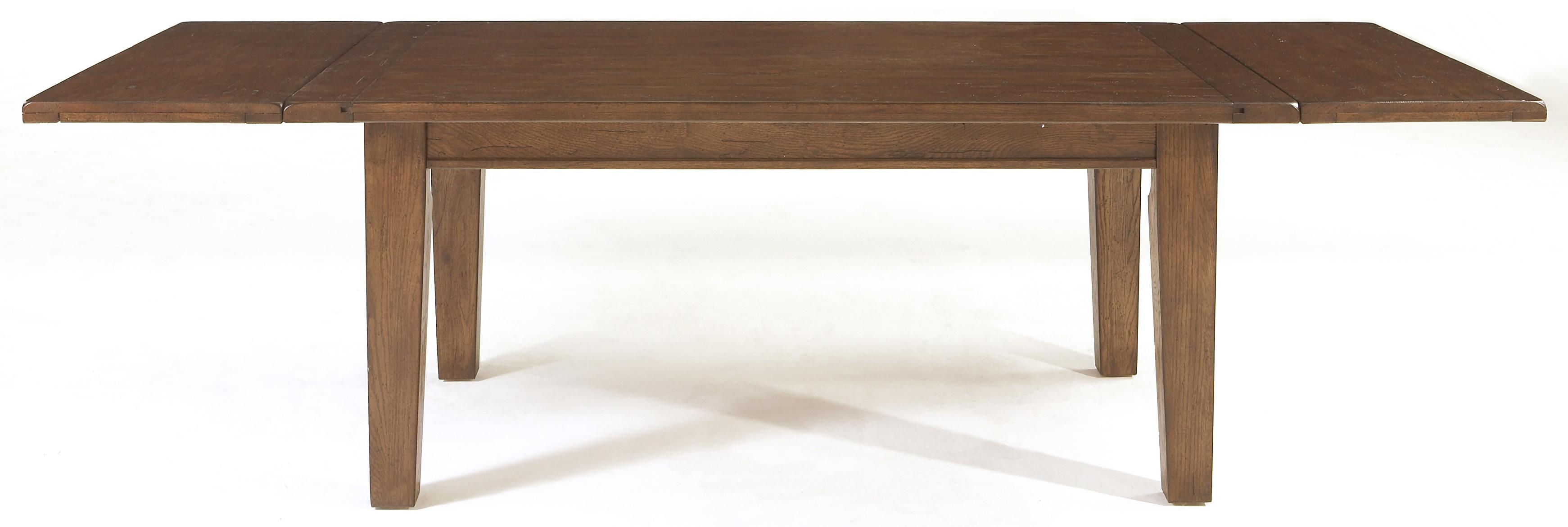 Leg Dining Table With Leaves by Broyhill Furniture | Wolf and ...