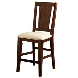 Broyhill Furniture Attic Heirlooms Splat Back Counter Stool