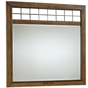 Broyhill Furniture Bethany Square Landscape Dresser Mirror