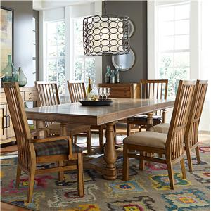 Broyhill Furniture Bethany Square 7 Piece Dining Set