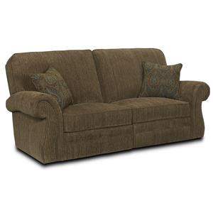 Broyhill Furniture Billings Traditional Reclining Sofa