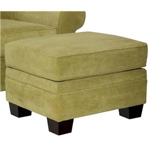 Broyhill Furniture Choices Upholstery <b>Customizable</b> Ottoman