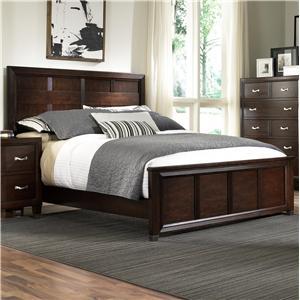 Broyhill Furniture Eastlake 2 King Panel Headboard and Footboard Bed