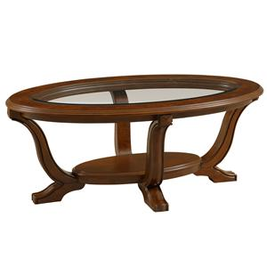 Broyhill Furniture Lana Oval Cocktail Table
