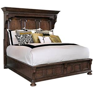Broyhill Furniture Lyla King Mansion Bed