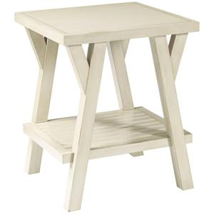 Broyhill Furniture New Vintage Splay Leg End Table