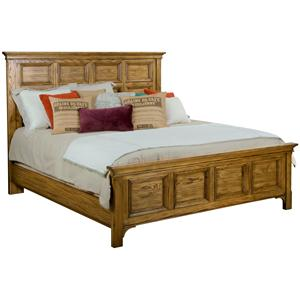 Broyhill Furniture New Vintage Queen Panel Bed