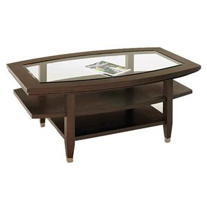 Broyhill Furniture Northern Lights Oval Cocktail Table