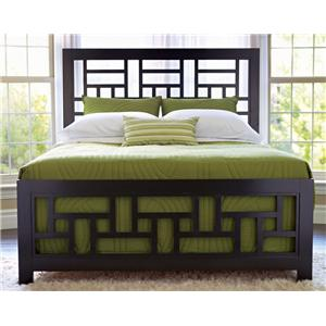 Broyhill Furniture Perspectives King Lattice Bed