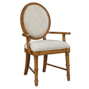 Broyhill Furniture Samana Cove Upholstered Dining Arm Chair
