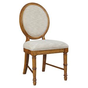 Broyhill Furniture Samana Cove Upholstered Dining Side Chair