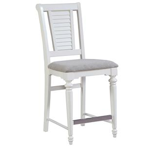 Broyhill Furniture Seabrooke Upholstered Counter Stool