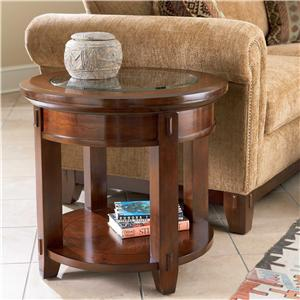 Broyhill Furniture Vantana Round End Table