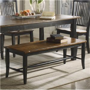 Canadel Champlain - Custom Dining <b>Customizable</b> Bench