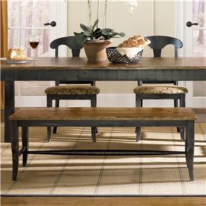Canadel Champlain - Custom Dining <b>Customizable</b> Dining Bench