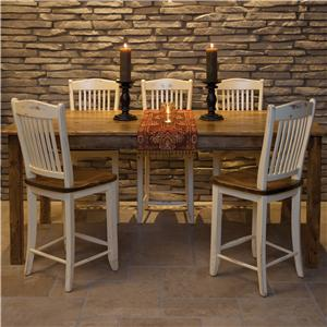 Canadel Champlain - Custom Dining <b>Customizable</b> Gathering Height Table