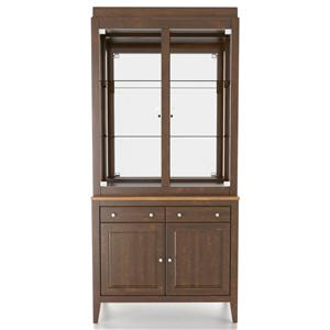 Canadel Custom Dining <b>Customizable</b> 38 Inch Buffet & Hutch