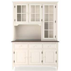 Canadel Custom Dining <b>Customizable</b> 54 Inch Buffet & Hutch