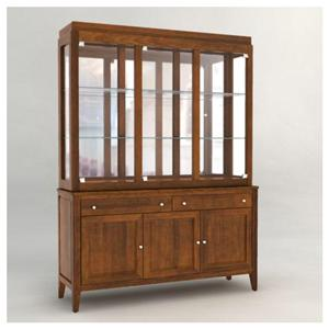 Canadel Custom Dining <b>Customizable</b> 60 Inch Hutch & Buffet