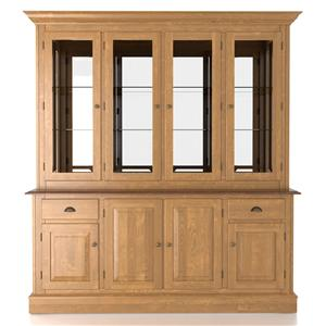 Canadel Custom Dining <b>Customizable</b> 72 Inch Hutch & Buffet