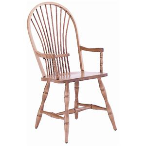 Canadel Custom Dining <b>Customizable</b> Windsor Arm Chair