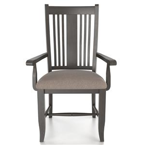 Canadel Custom Dining <b>Customizable</b> Upholstered Arm Chair