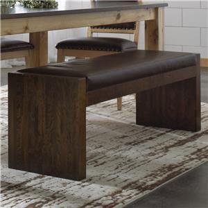 Canadel Loft - Custom Dining <b>Customizable</b> Upholstered Bench