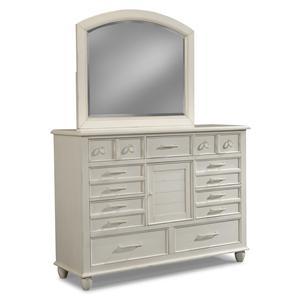 Carolina Preserves by Klaussner Sea Breeze Dresser and Mirror Set