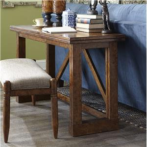 Carolina Preserves by Klaussner Southern Pines Gate Leg Sofa Table