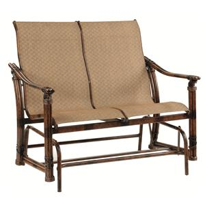 Castelle by Pride Family Brands Coco Isle Sling Loveseat Glider