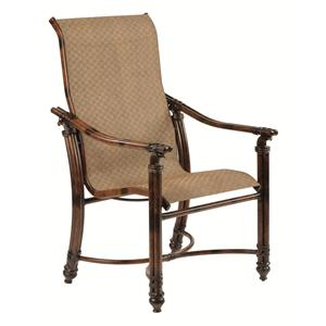 Castelle by Pride Family Brands Coco Isle Sling Dining Chair