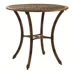 """Castelle by Pride Family Brands Coco Isle 42"""" Round Bar Height Table"""