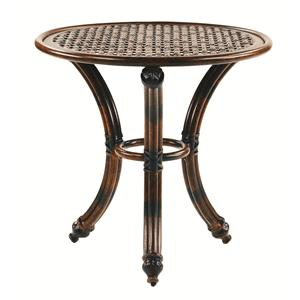 """Castelle by Pride Family Brands Coco Isle 24"""" Round Occasional Table"""