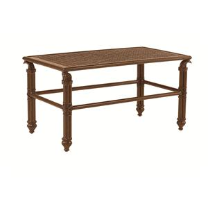 """Castelle by Pride Family Brands Coco Isle 34"""" x 18"""" Small Rectangular Coffee Table"""