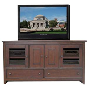 "Morris Home Furnishings Celina Celina 65"" Media Console"