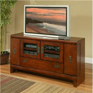 "Morris Home Furnishings Greenfield Greenfield 57"" Media Console"