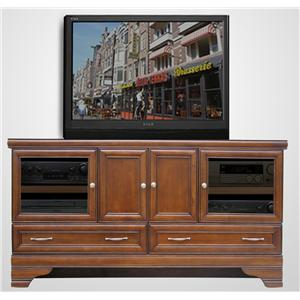 "Morris Home Furnishings Maple City Maple City 66"" Media Console"
