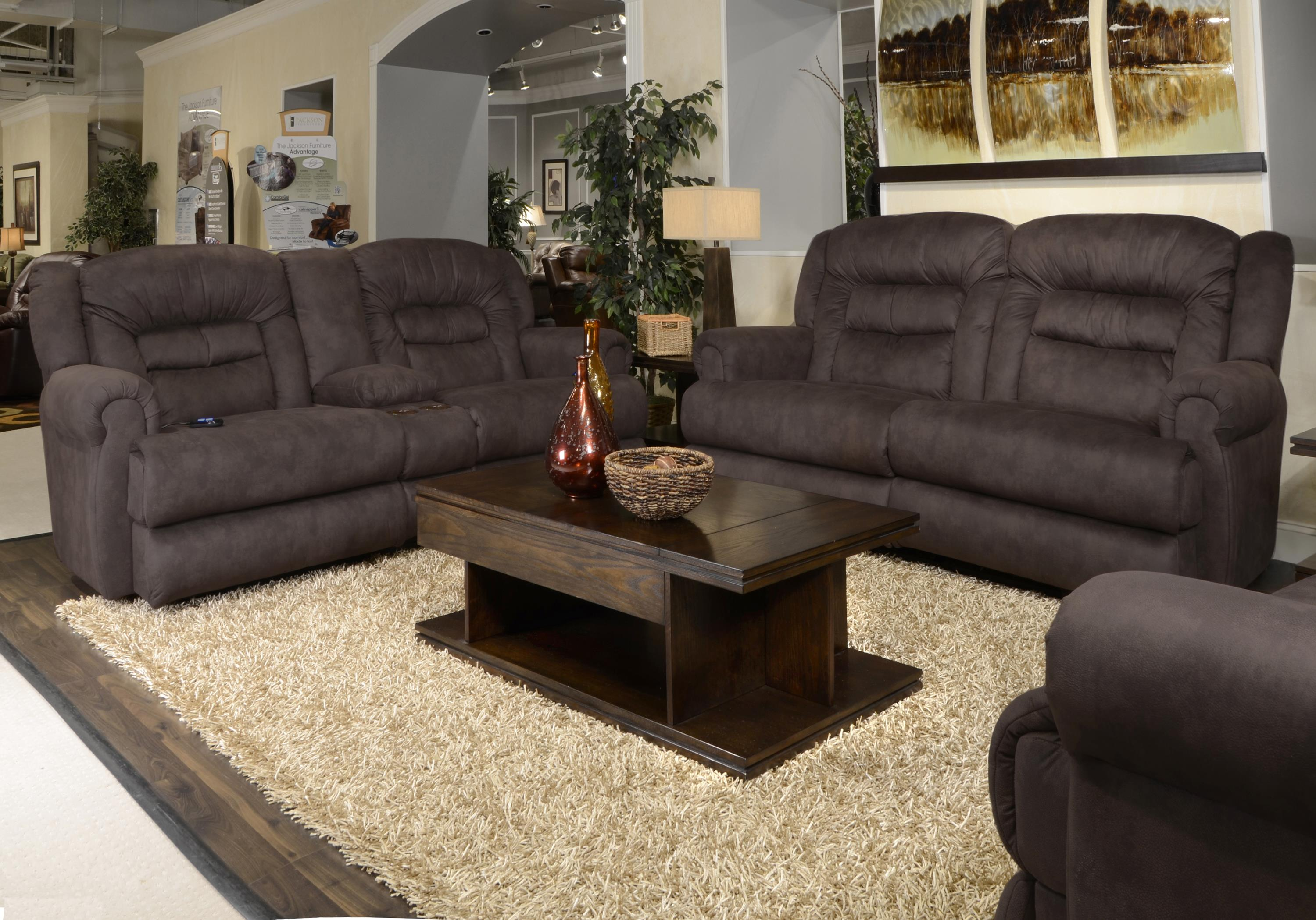 Reclining Sofa By Catnapper Wolf And Gardiner Wolf Furniture