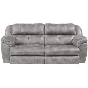 Power Headrest Lay-Flat Reclining Sofa