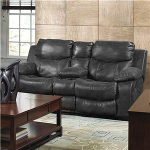 Catnapper Catalina 431 Reclining Console Loveseat