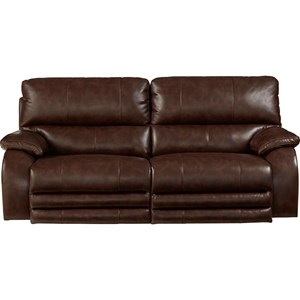 Reclining Sofa with Power Headrest And Power Lay Flat