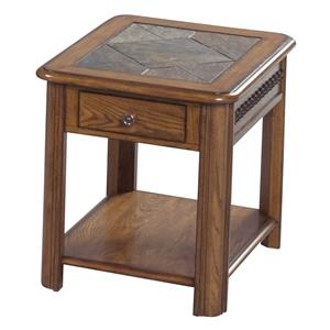 Catnapper 879 Tables End Table with Drawer